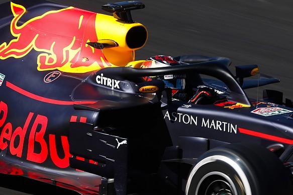 Max Verstappen Red Bull F1 testing 2018