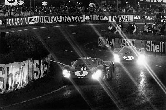 Dan Gurney Ford 1967 Le Mans 24 Hours