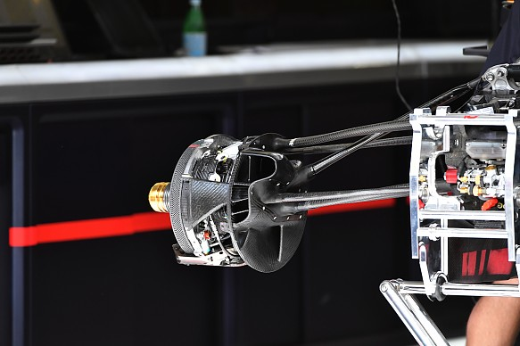 Red Bull brake system