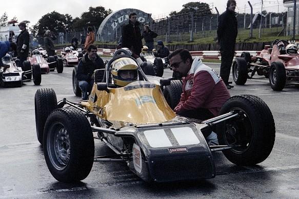 Domingos Piedade Ayrton Senna Brands Hatch Formula Ford 1981