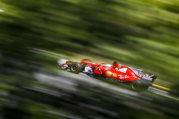 Sebastian Vettel Ferrari Brazilian GP 2017