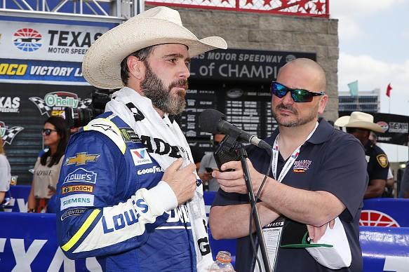 Jimmie Johnson NASCAR Cup Texas 2017