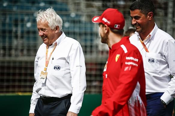Charlie Whiting Sebastian Vettel