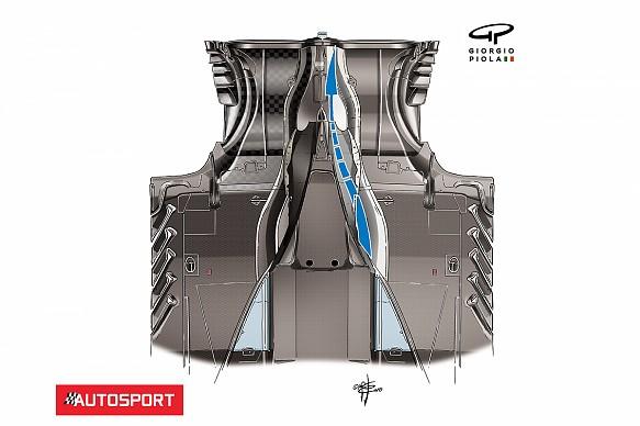 Ferrari SF71H floor Piola