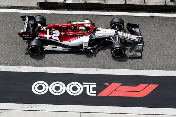 Antonio Giovinazzi Alfa Romeo Chinese Grand Prix 2019