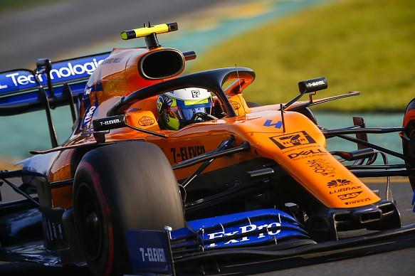 Lando Norris McLaren Australian Grand Prix 2019