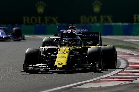 Nico Hulkenberg Renault Hungarian Grand Prix 2019