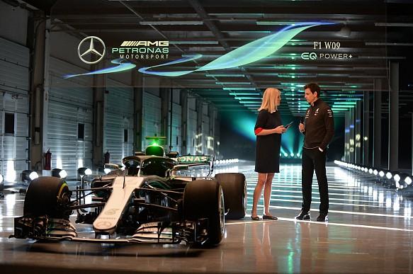Mercedes F1 launch 2018