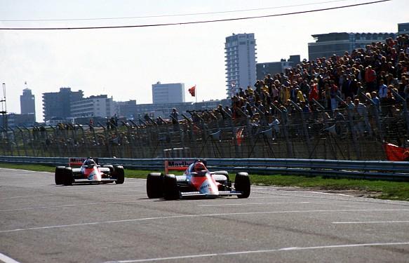 Lauda Prost Zandvoort 1985