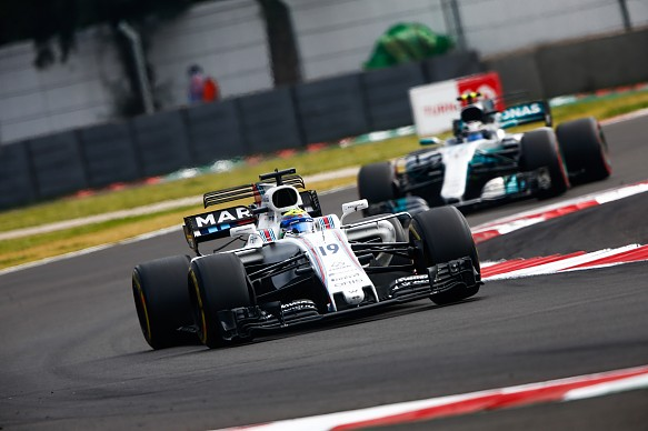 Williams and Mercedes F1 2017
