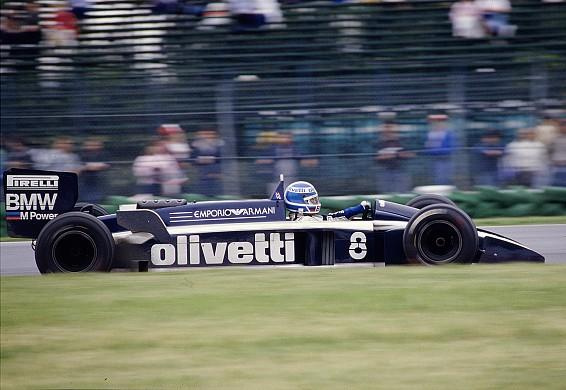 Derek Warwick Brabham 1986 F1