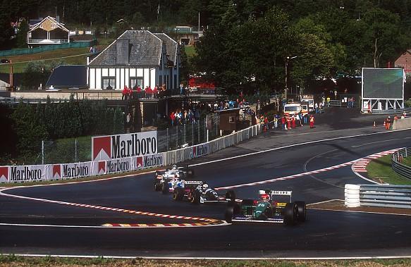 Erik Comas Larrousse 1994 Belgian Grand Prix