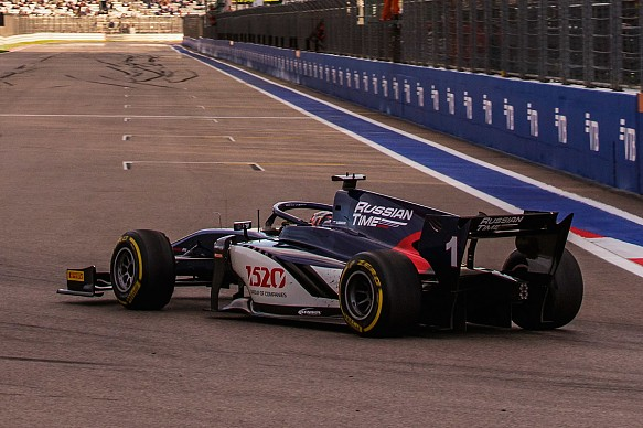 Artem Markelov Russian Time F2 2018