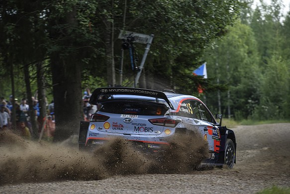 Thierry Neuville Hyundai WRC Rally Finland 2018