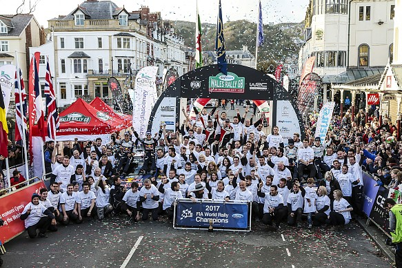 M-Sport wins 2017 WRC title