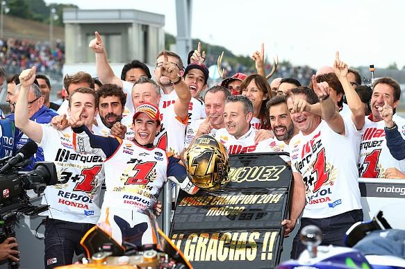 Marc Marquez wins 2014 MotoGP title