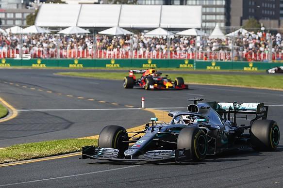 Hamilton Verstappen Australian Grand Prix 2019