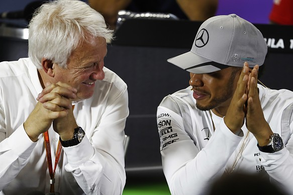 Charlie Whiting Lewis Hamilton