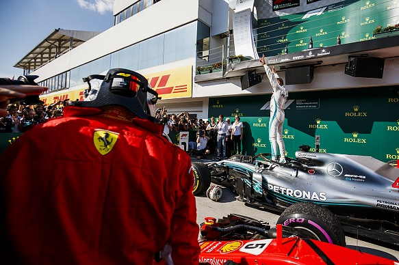 Vettel Hamilton F1 2018