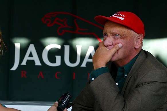 Niki Lauda Jaguar 2002