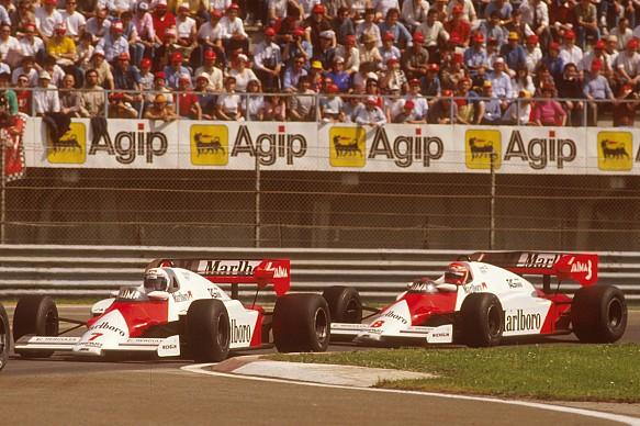 Prost Lauda McLaren F1 1984