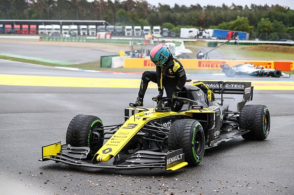 Daniel Ricciardo Renault German Grand Prix 2019