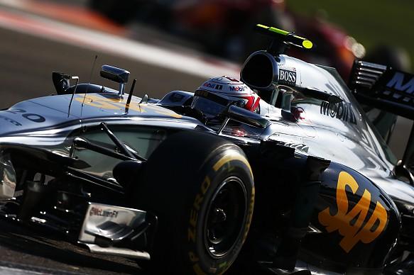 Kevin Magnussen Abu Dhabi GP 2014