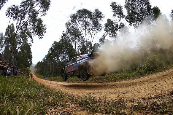 Thierry Neuville Rally Australia 2018