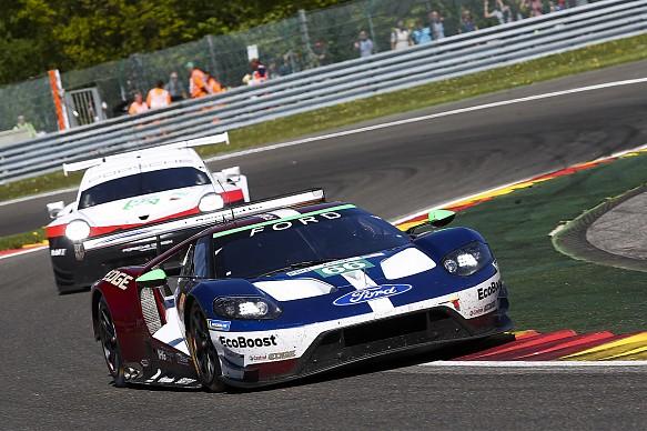 Olivier Pal Stefan Mucke Billy Johnson GTE Pro WEC Spa Ford Porsche