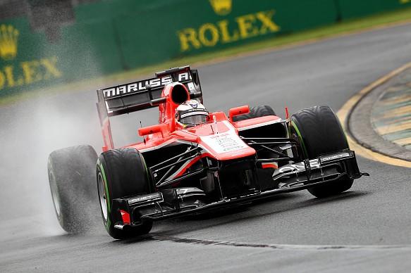 Jules Bianchi Marussia Australian GP 2013