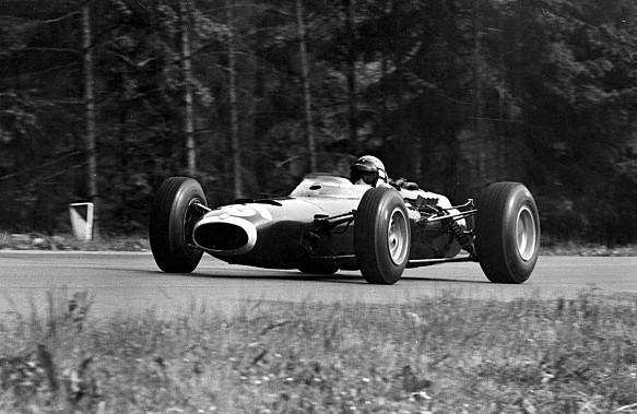 Jackie Stewart 1966 Belgian GP