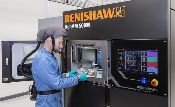Renishaw additive manufacturing