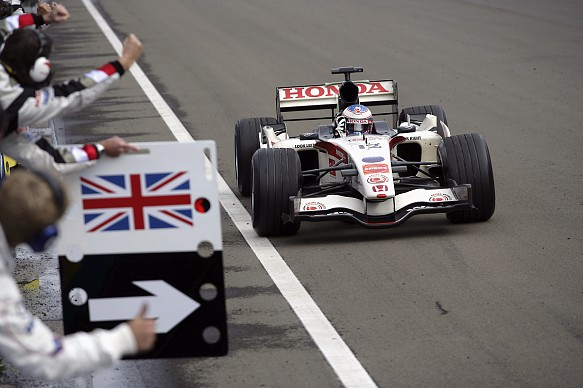 Jenson Button Honda Hungarian Grand Prix 2019 F1