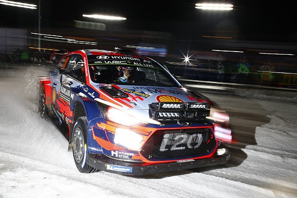 Thierry Neuville Hyundai WRC Rally Sweden 2019