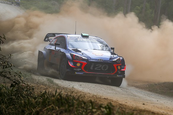 Hayden Paddon WRC 2018