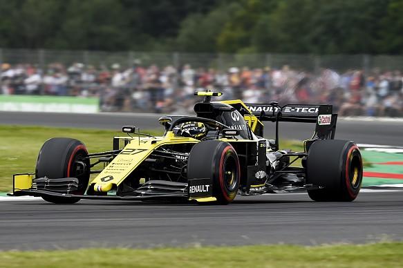 Nico Hulkenberg Renault British Grand Prix 2019