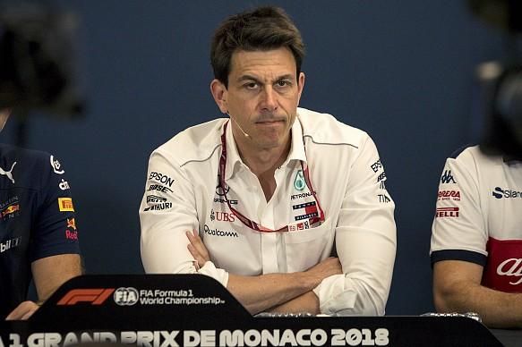 Toto Wolff Mercedes Monaco Grand Prix 2018
