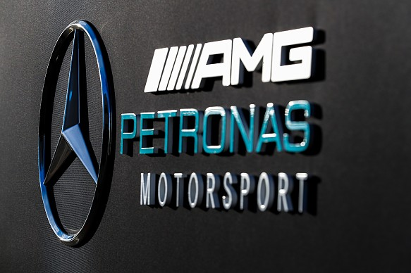 Mercedes F1 logo 2019