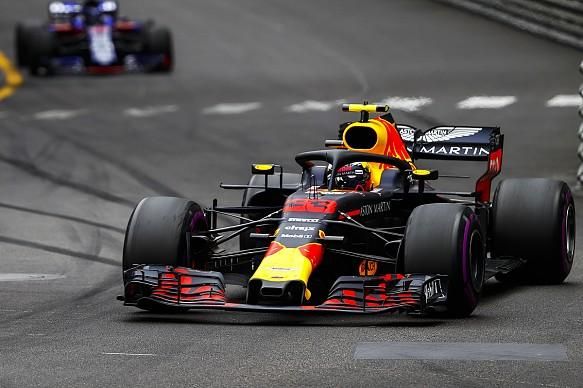 Max Verstappen Monaco Grand Prix 2018
