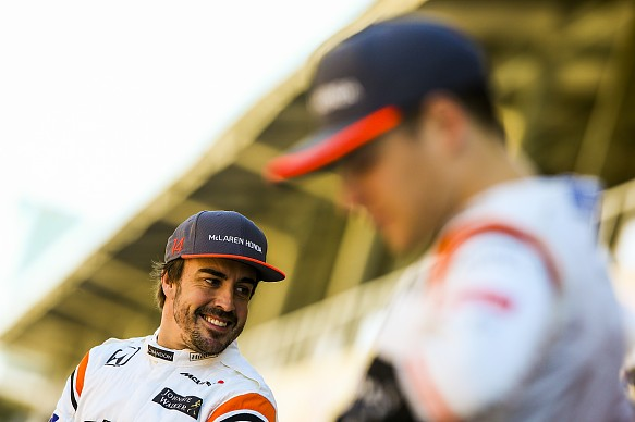 Fernando Alonso and Stoffel Vandoorne