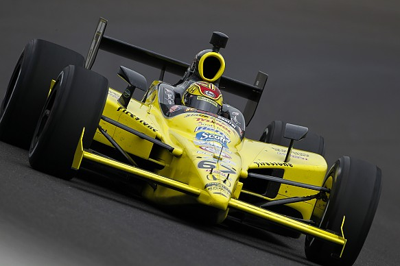 Sarah Fisher 2010 Indy 500