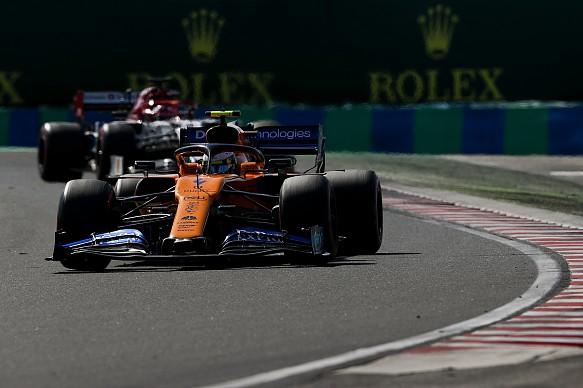 Lando Norris McLaren Hungarian Grand Prix 2019