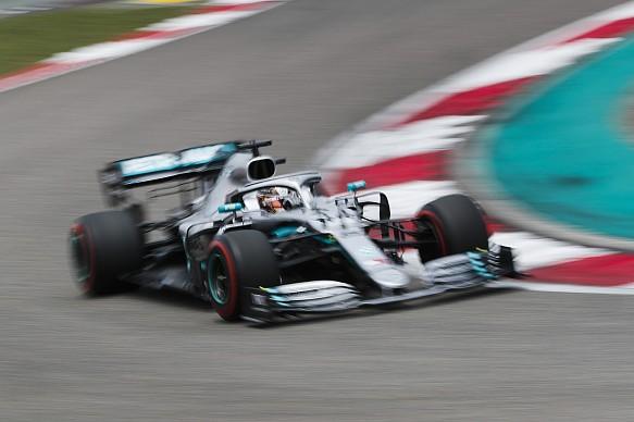 Lewis Hamilton Mercedes Chinese GP 2019
