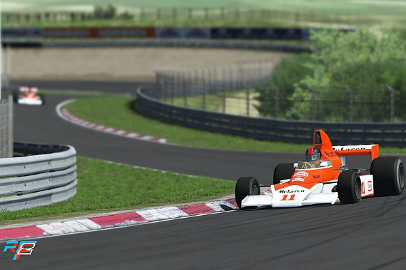 Classic F1 cars to feature in rFactor 2 and McLaren Shadow Project