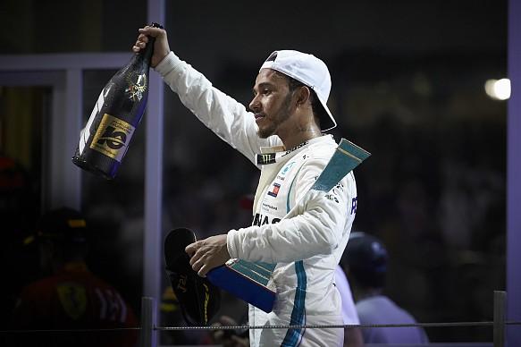 Lewis Hamilton Abu Dhabi F1 2018