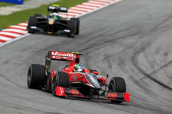 Lucas di Grassi Virgin 2010 Malaysian Grand Prix