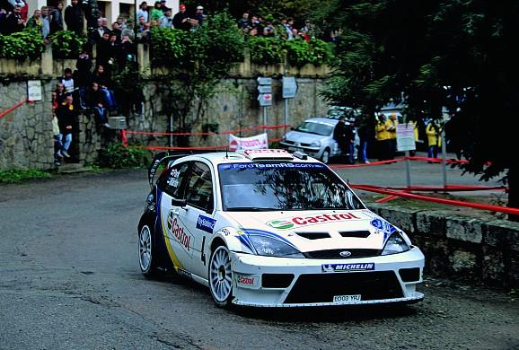 Markko Martin 2003 Rally Corsica