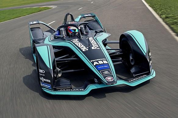 Jaguar Gen2 Formula E car