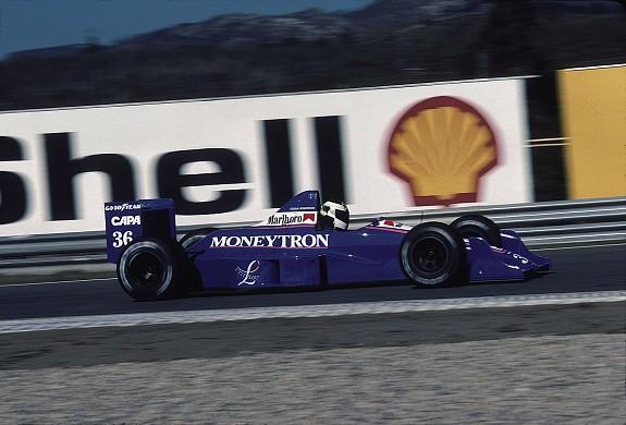 Stefan Johansson Onyx F1 1989