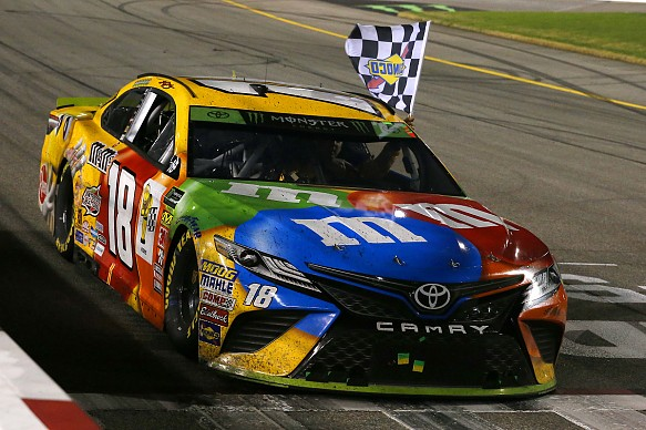 Kyle Busch JGR NASCAR Richmond 2018
